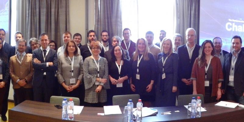 Delegates from the Challenge cities join European Commission experts for the first City Academy Seminar