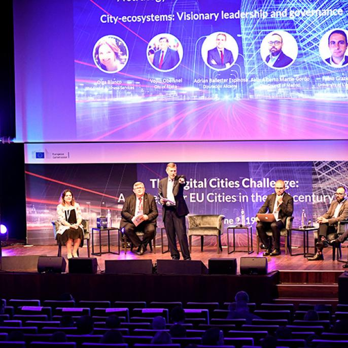 City-ecosystems: Visionary leadership and governance panel