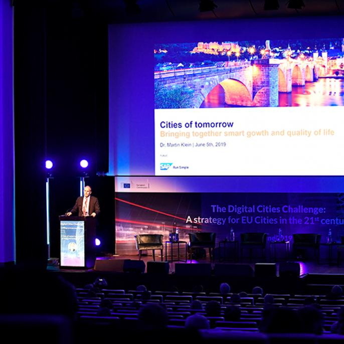 Martin Klein, Global Head of Industry and Business Unit for the Public sector at SAP