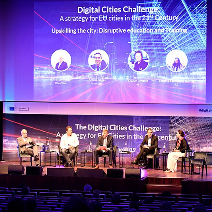 Panel on Upskilling the city