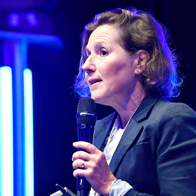 Eugenia Kazamaki Ottersen, Head of JASPERS Smart Development, European Investment Bank