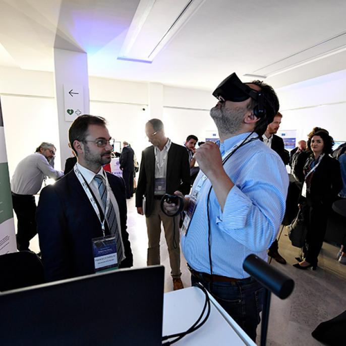 DCC city L'Aquila demonstrates its new virtual and augmented reality smart tourism applications