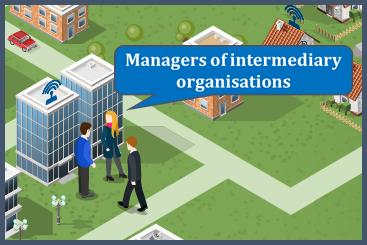 Managers of intermediary organisations