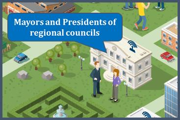 Mayors and president of regional councils