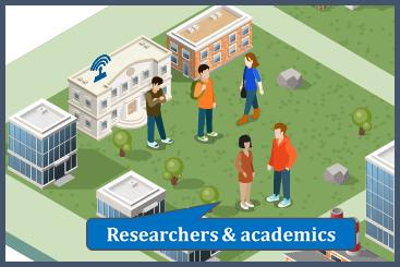 Researchers & academics