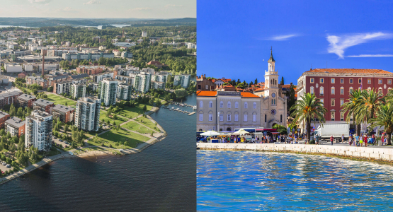 Meet the ICC cities: Jyväskylä (Finland) and Split (Croatia)