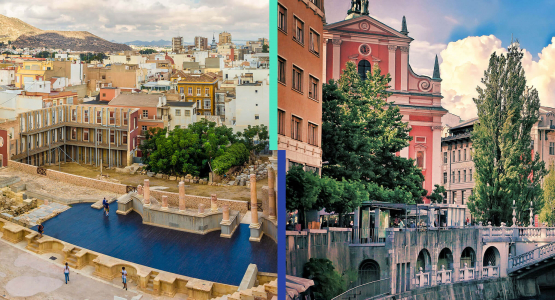 Meet the ICC cities: Cartagena and Ljubljana